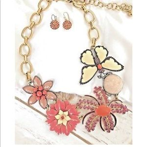 🌸 Stella & Dot Garden Party Butterfly Flowers 🌺